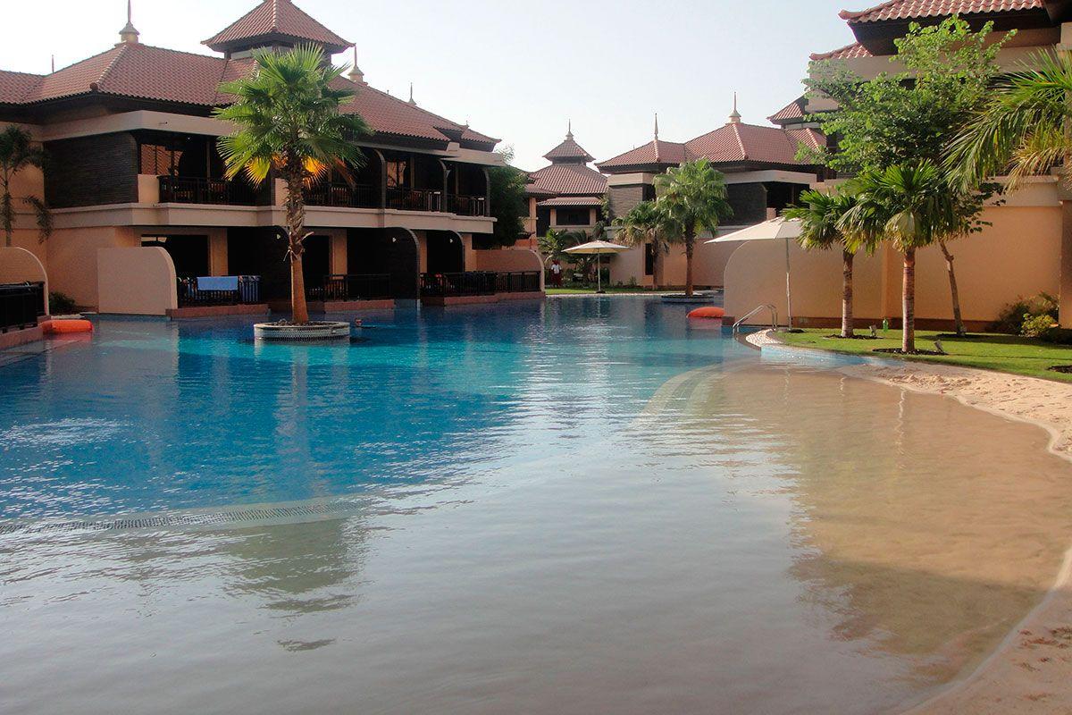 Отель, гостиница в Дубае, ОАЭ, 141 м2 - фото 1