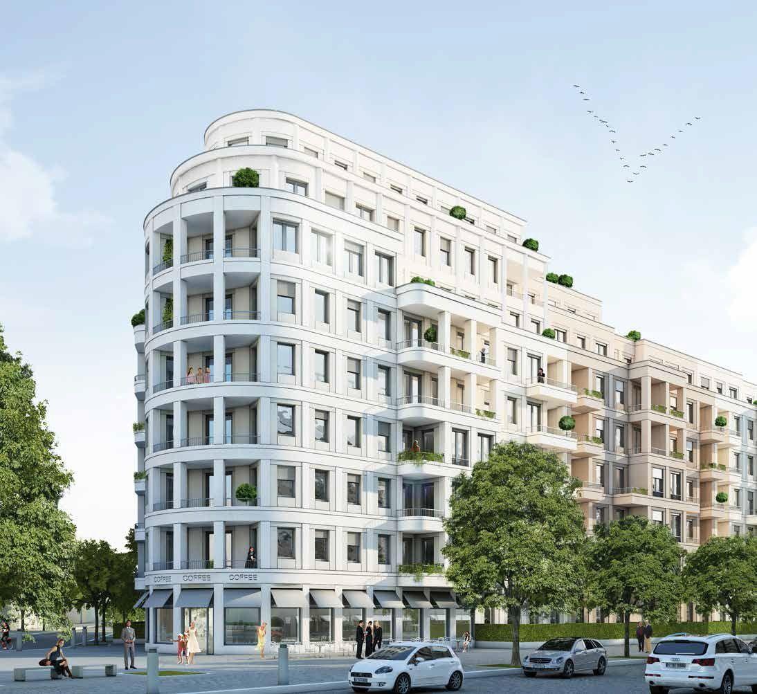 Апартаменты в Берлине, Германия, 99.55 м2 - фото 1