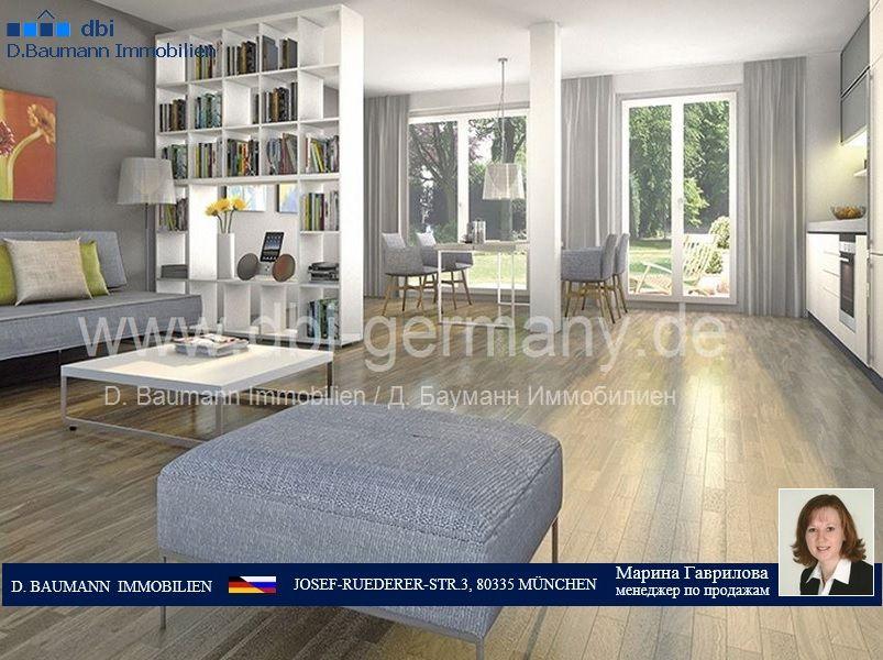 Квартира в Мюнхене, Германия, 54.74 м2 - фото 1