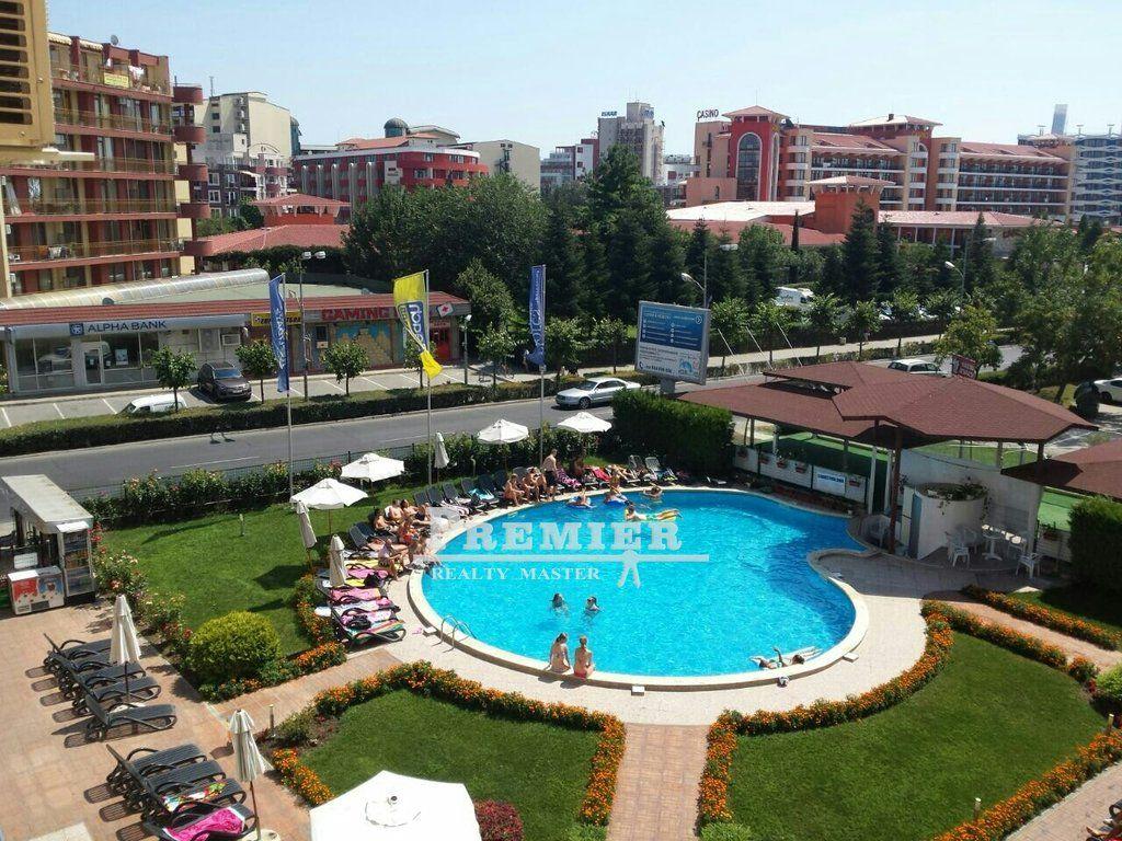 Квартира на Солнечном берегу, Болгария, 35 м2 - фото 1