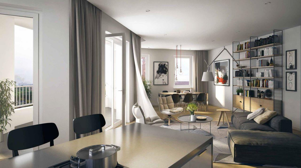 Апартаменты в Берлине, Германия, 118.58 м2 - фото 1