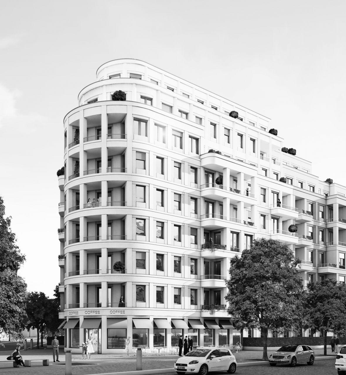 Апартаменты в Берлине, Германия, 113.6 м2 - фото 1