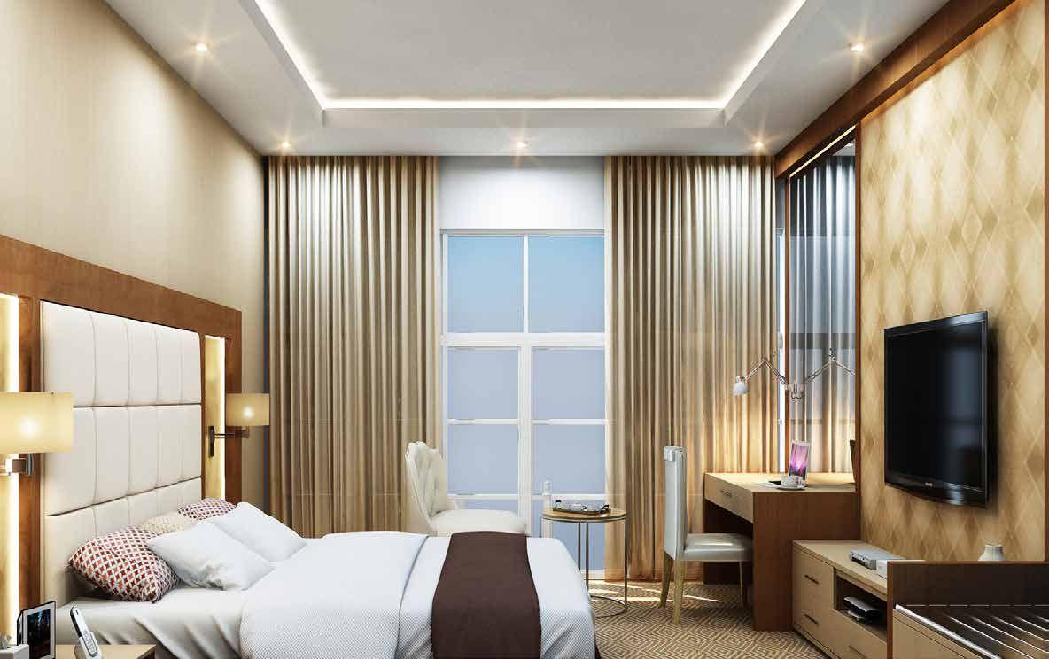 Отель, гостиница в Дубае, ОАЭ, 97.3 м2 - фото 1