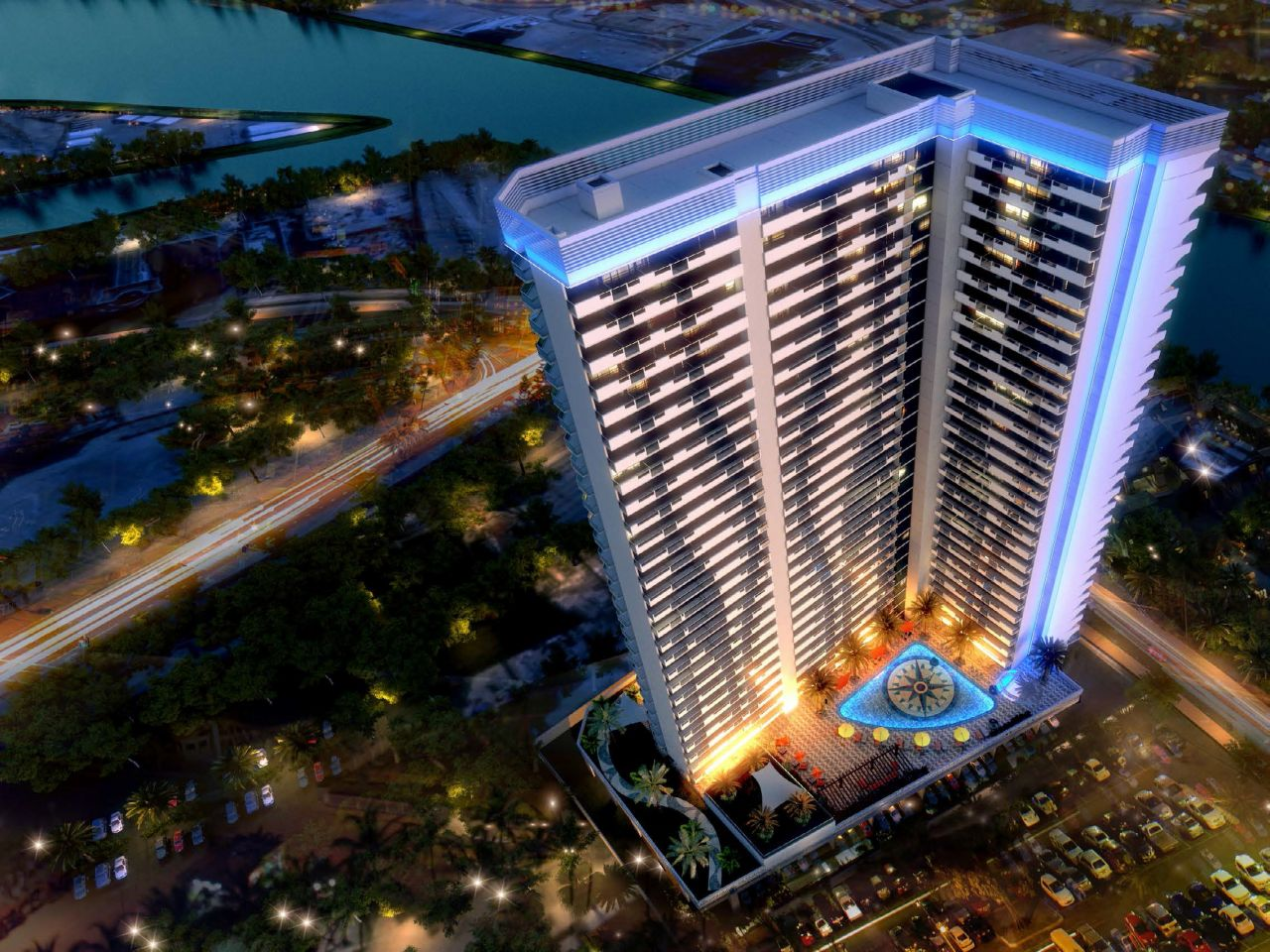 Апартаменты в Дубае, ОАЭ, 59 м2 - фото 1