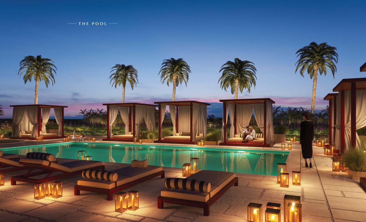 Отель, гостиница в Дубае, ОАЭ, 117 м2 - фото 1