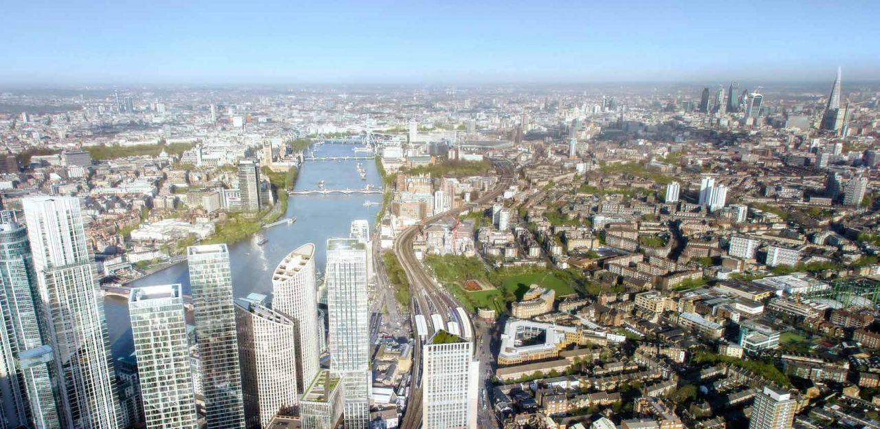 Апартаменты в Лондоне, Великобритания, 86.4 м2 - фото 1