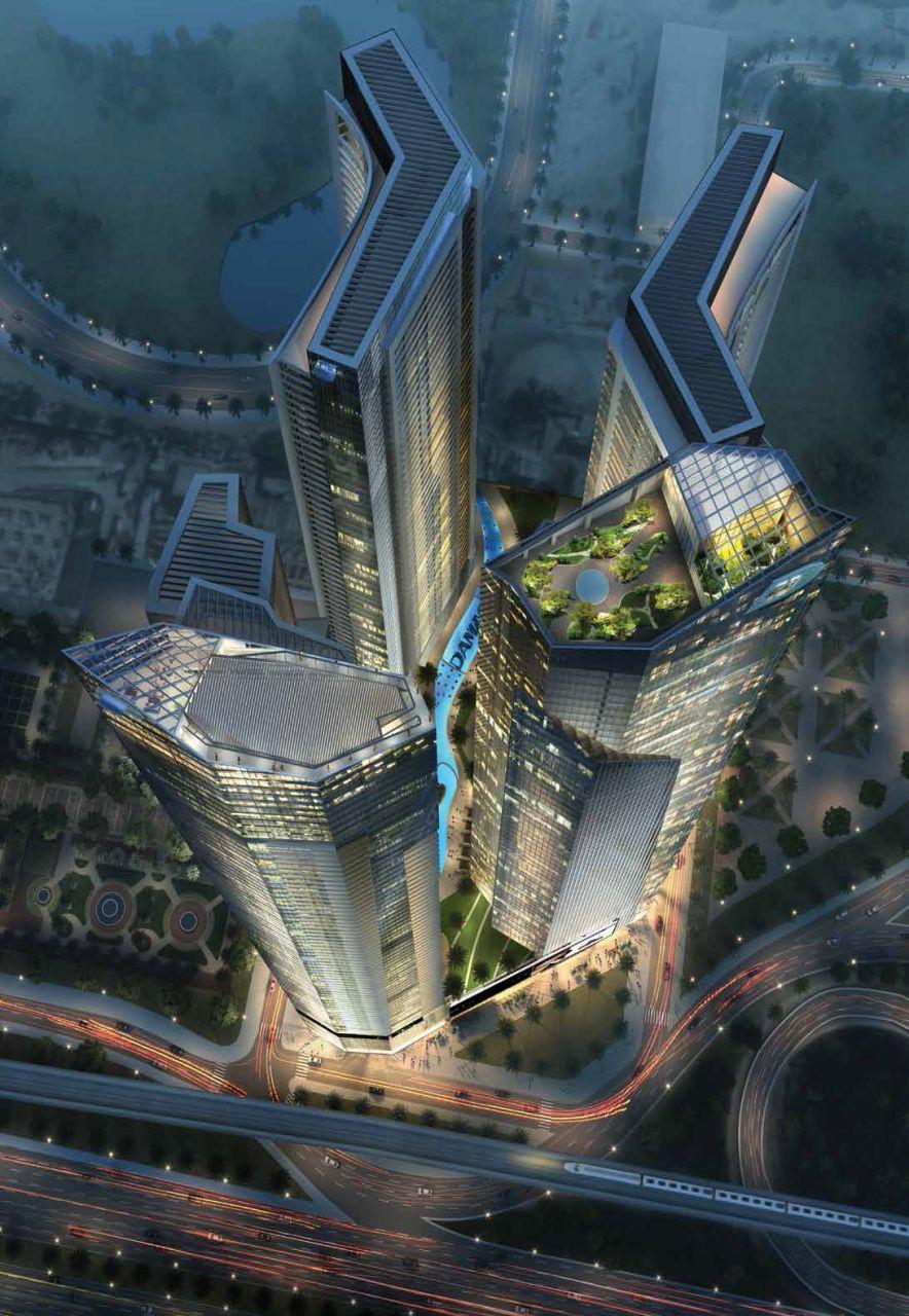 Отель, гостиница в Дубае, ОАЭ, 73.69 м2 - фото 1