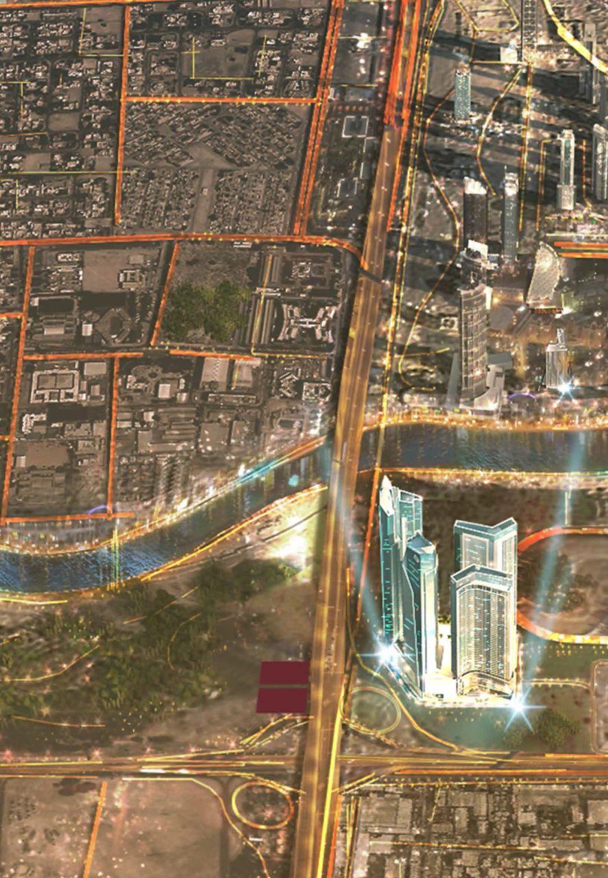 Отель, гостиница в Дубае, ОАЭ, 61.9 м2 - фото 1