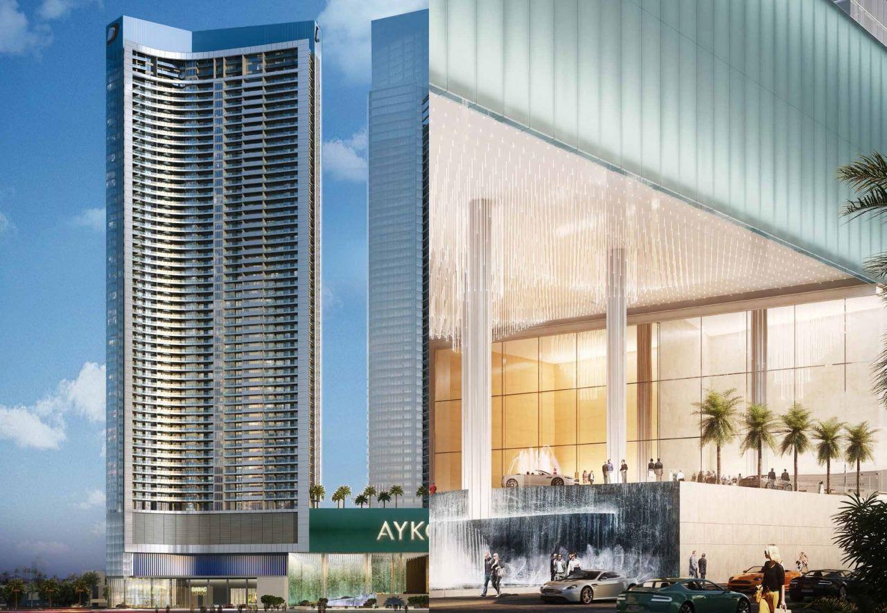 Отель, гостиница в Дубае, ОАЭ, 57.3 м2 - фото 1