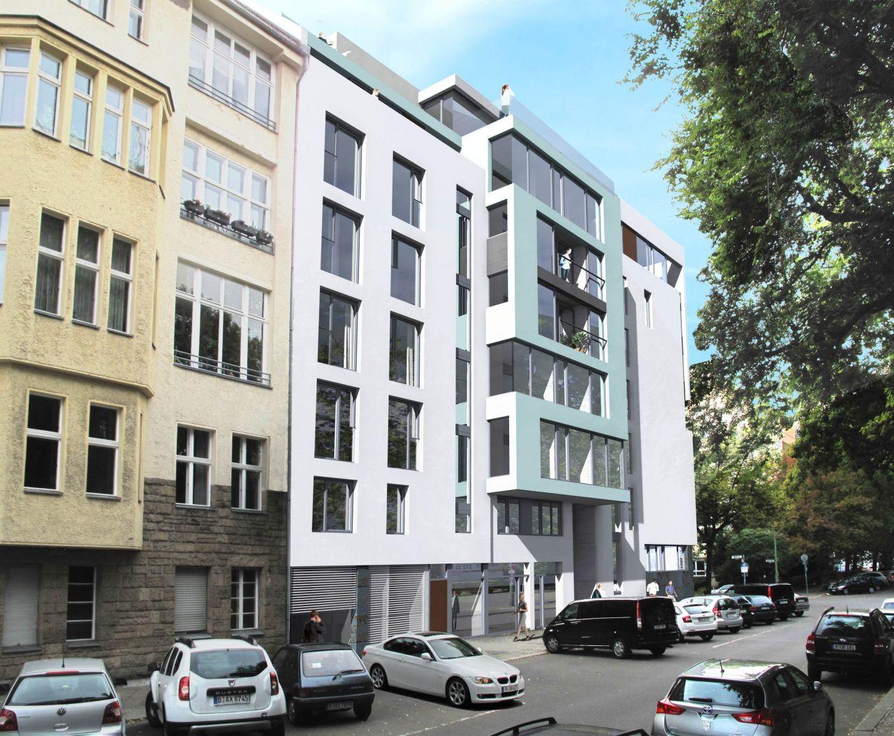 Апартаменты в Берлине, Германия, 123.77 м2 - фото 1