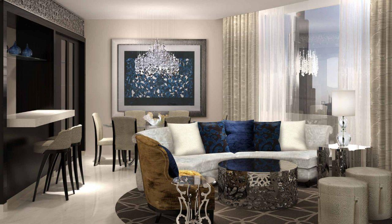 Отель, гостиница в Дубае, ОАЭ, 181 м2 - фото 1