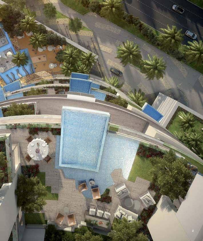 Отель, гостиница в Дубае, ОАЭ, 250 м2 - фото 1