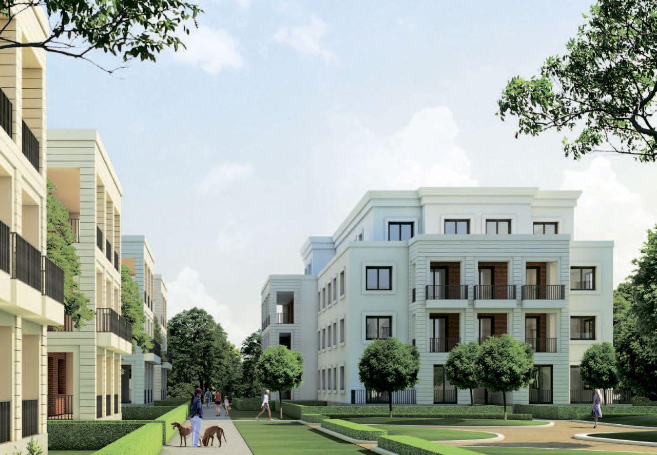 Апартаменты в Берлине, Германия, 254 м2 - фото 1