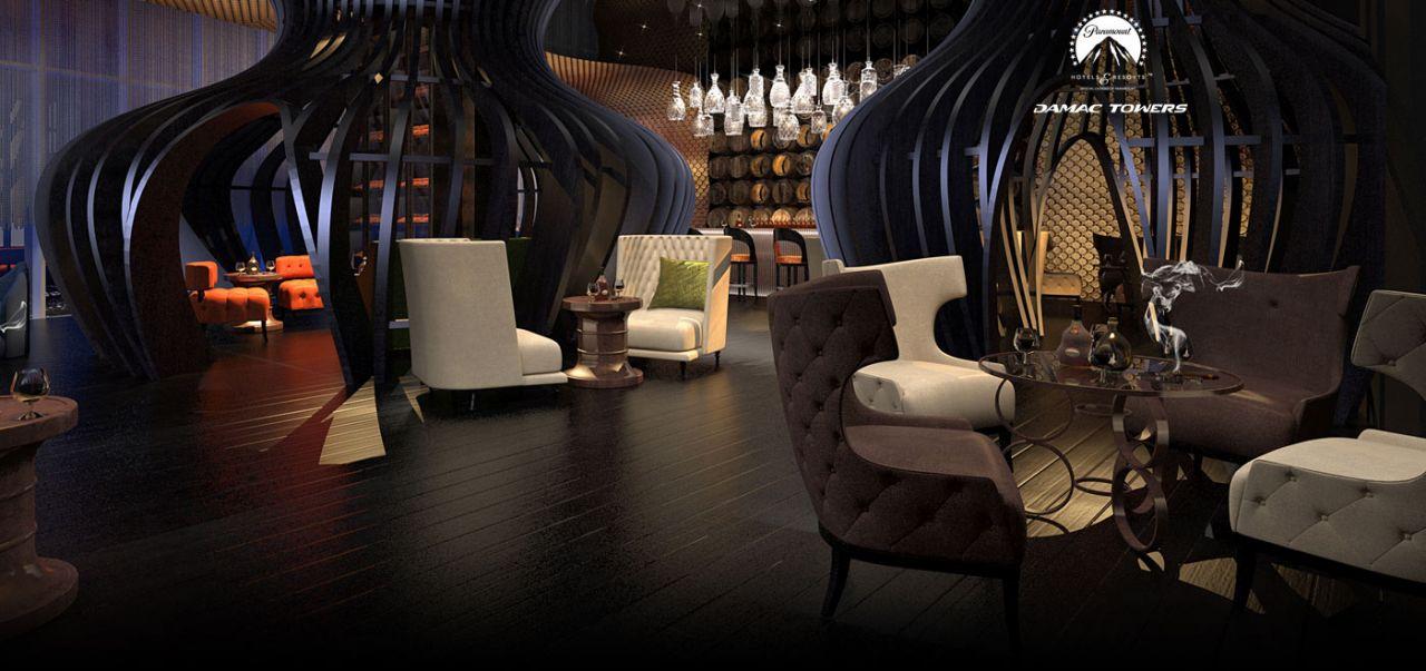 Отель, гостиница в Дубае, ОАЭ, 46 м2 - фото 1