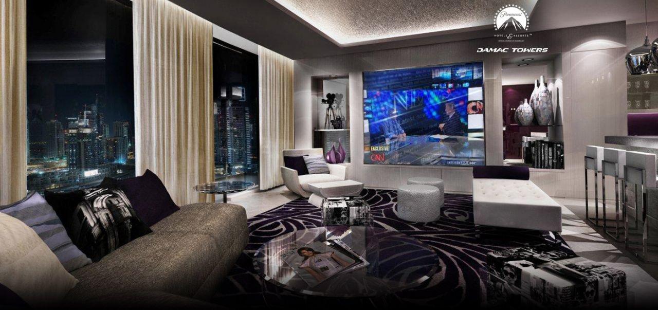 Отель, гостиница в Дубае, ОАЭ, 86 м2 - фото 1