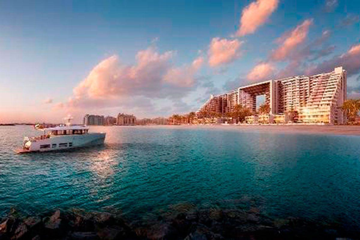 Отель, гостиница в Дубае, ОАЭ, 2169 м2 - фото 1