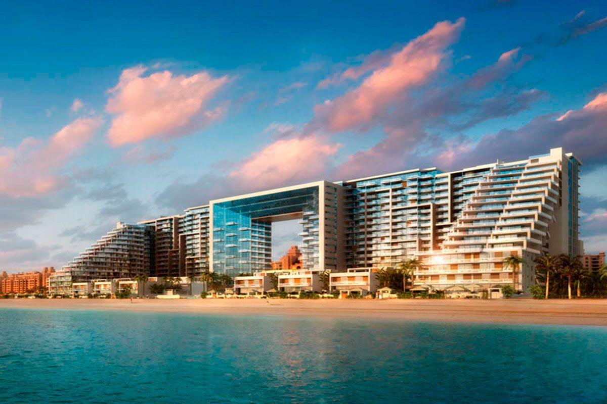 Отель, гостиница в Дубае, ОАЭ, 101 м2 - фото 1