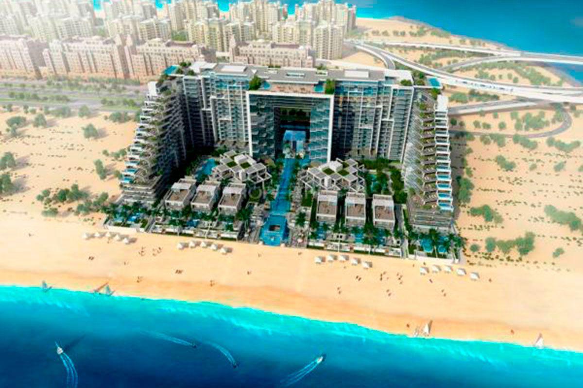 Отель, гостиница в Дубае, ОАЭ, 47 м2 - фото 1