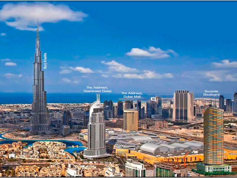 Отель, гостиница в Дубае, ОАЭ, 77 м2 - фото 1