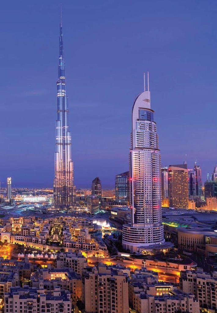 Отель, гостиница в Дубае, ОАЭ, 118 м2 - фото 1