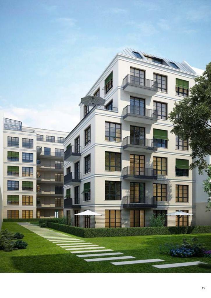 Апартаменты в Берлине, Германия, 256 м2 - фото 1