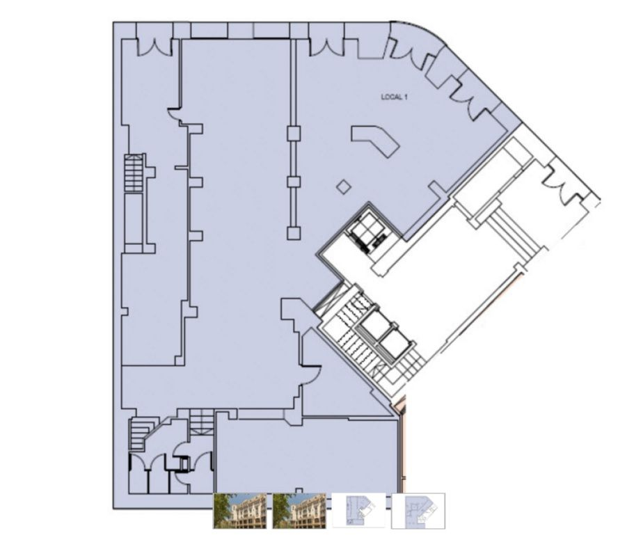 Коммерческая недвижимость в Барселоне, Испания, 611 м2 - фото 1
