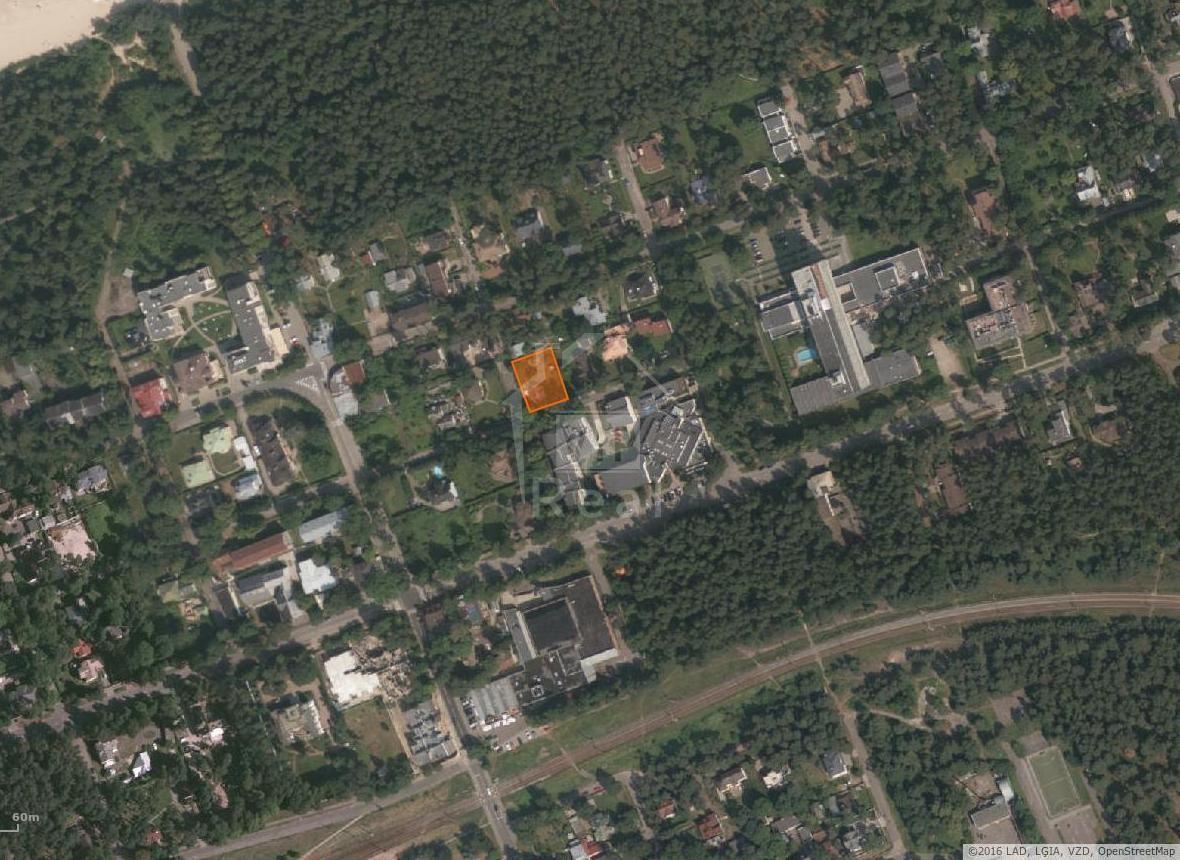 Земля в Юрмале, Латвия, 971 м2 - фото 1