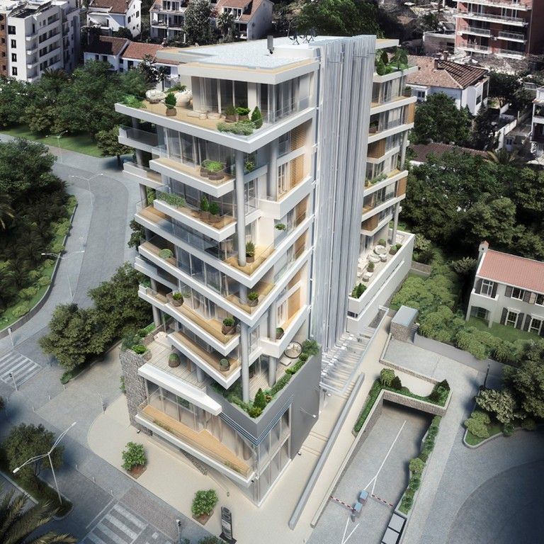 Апартаменты Будванская Ривьера, Черногория, 59 м2 - фото 1