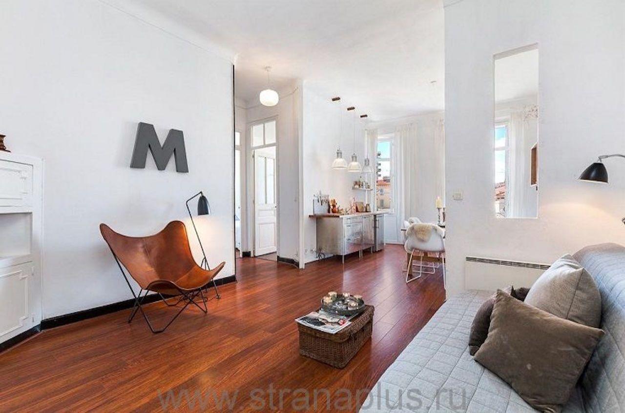 Квартира в Каннах, Франция, 45 м2 - фото 1