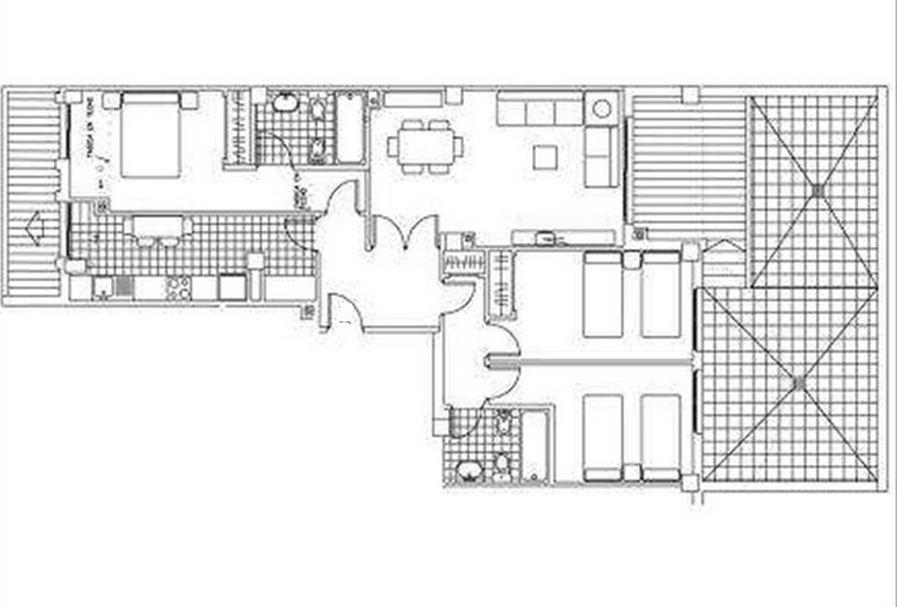 Апартаменты в Дении, Испания, 101 м2 - фото 1