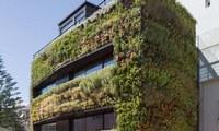 В Лиссабоне продается вилла с вертикальным садом