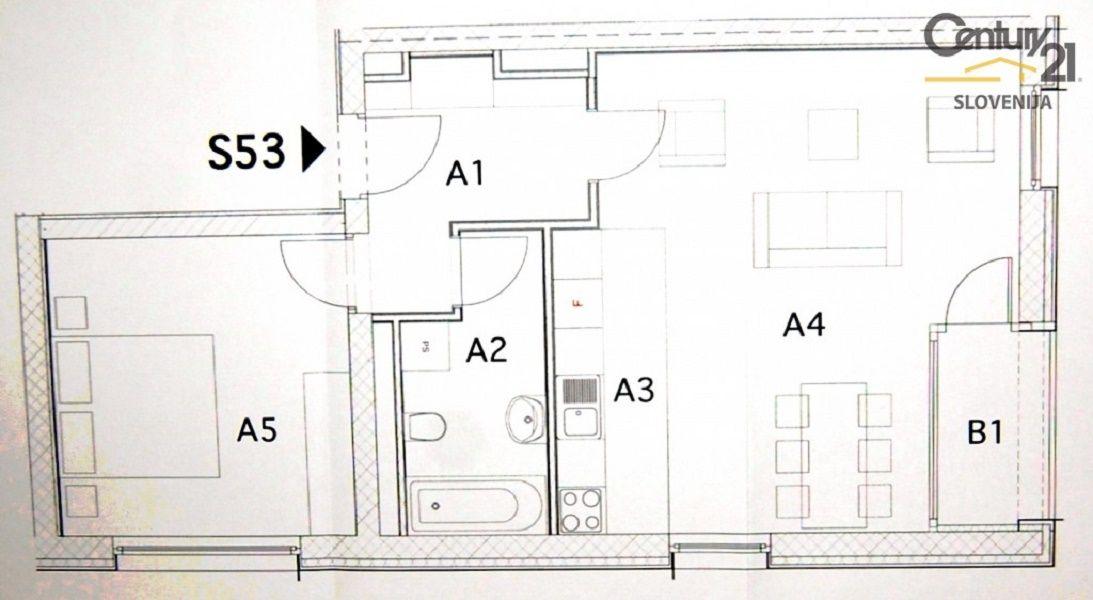 Квартира в Мариборе, Словения, 62.9 м2 - фото 7