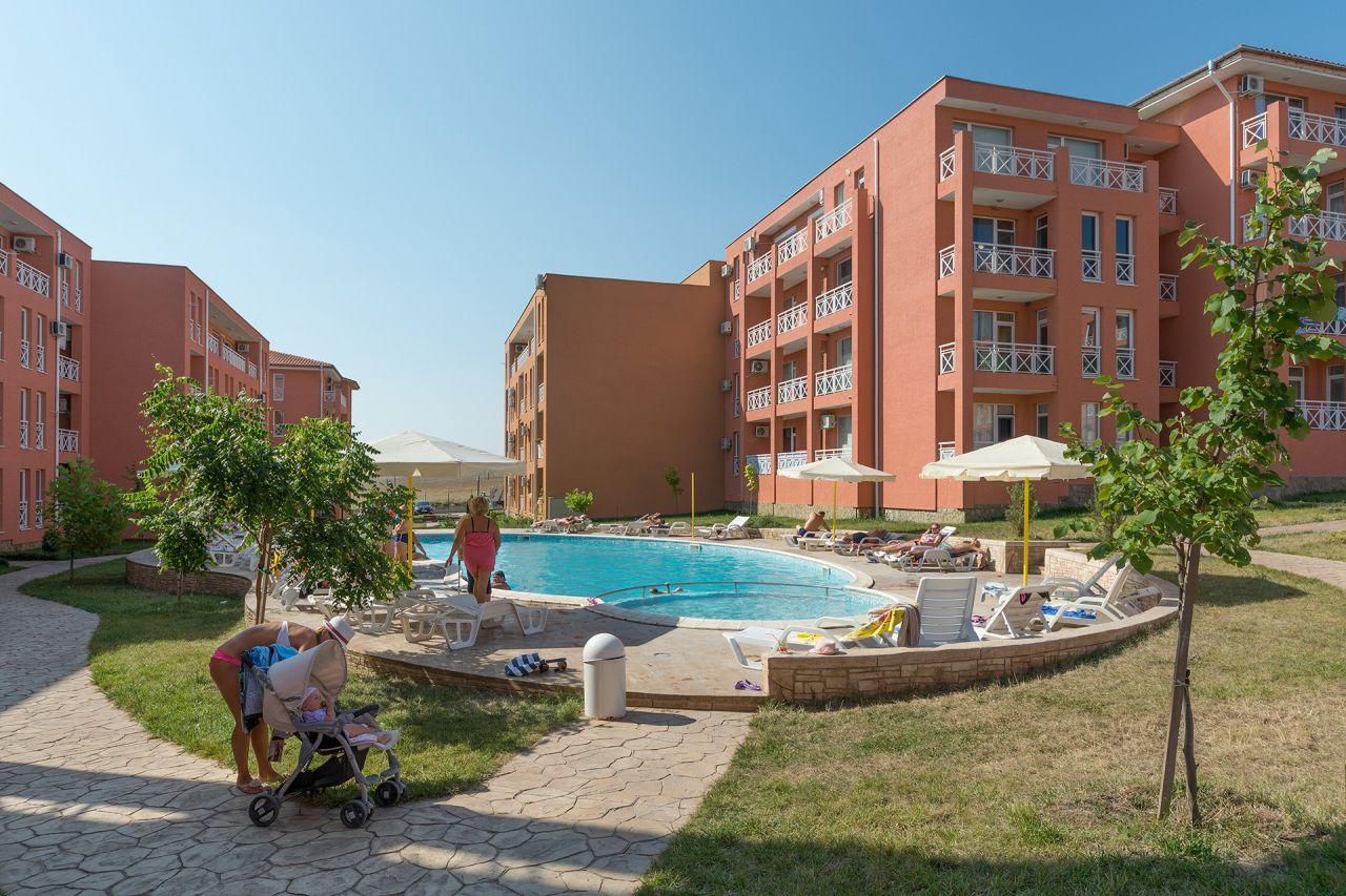 Апартаменты на Солнечном берегу, Болгария, 26 м2 - фото 1