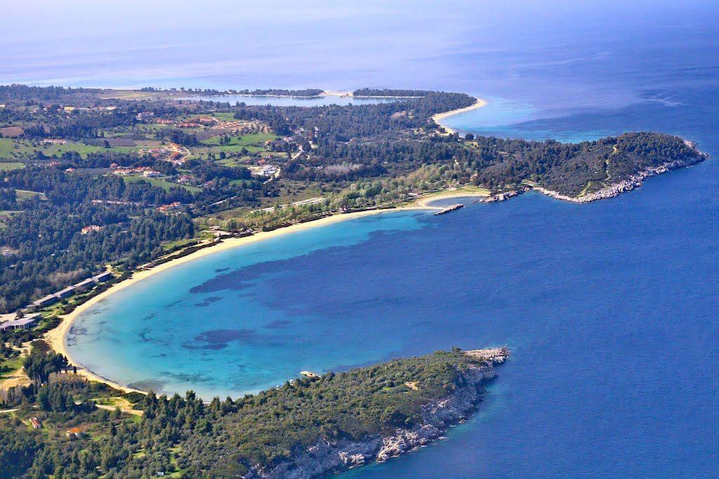 Земля в Ситонии, Греция, 574 м2 - фото 1