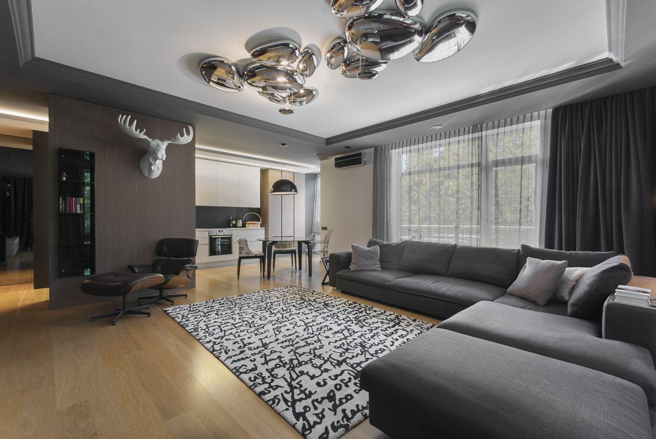 Апартаменты в Риге, Латвия, 223 м2 - фото 1
