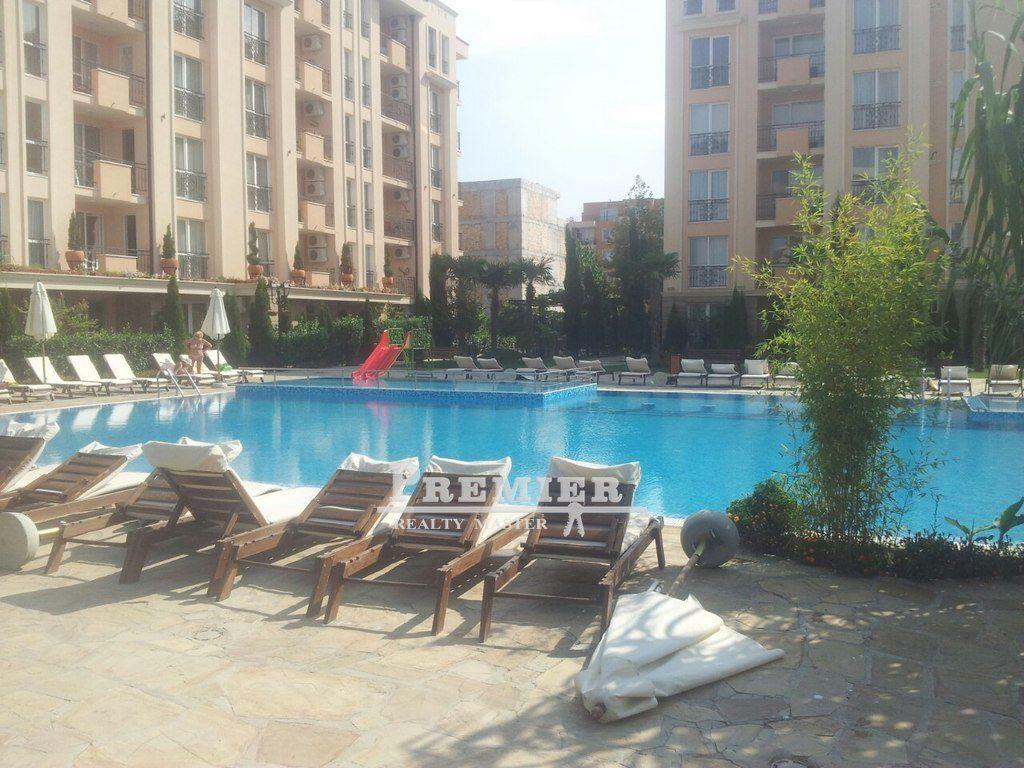 Квартира на Солнечном берегу, Болгария, 36 м2 - фото 1