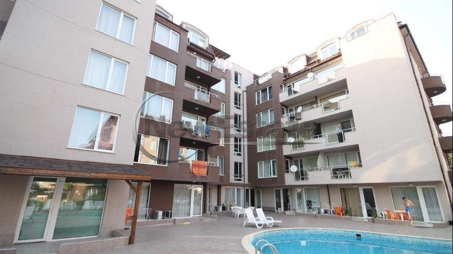 Квартира на Солнечном берегу, Болгария, 54 м2 - фото 1