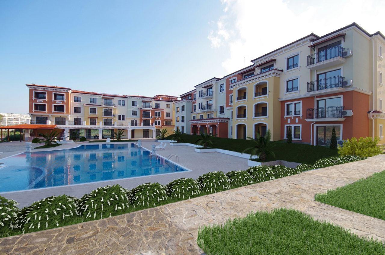 Апартаменты в Бургасской области, Болгария, 26 м2 - фото 1