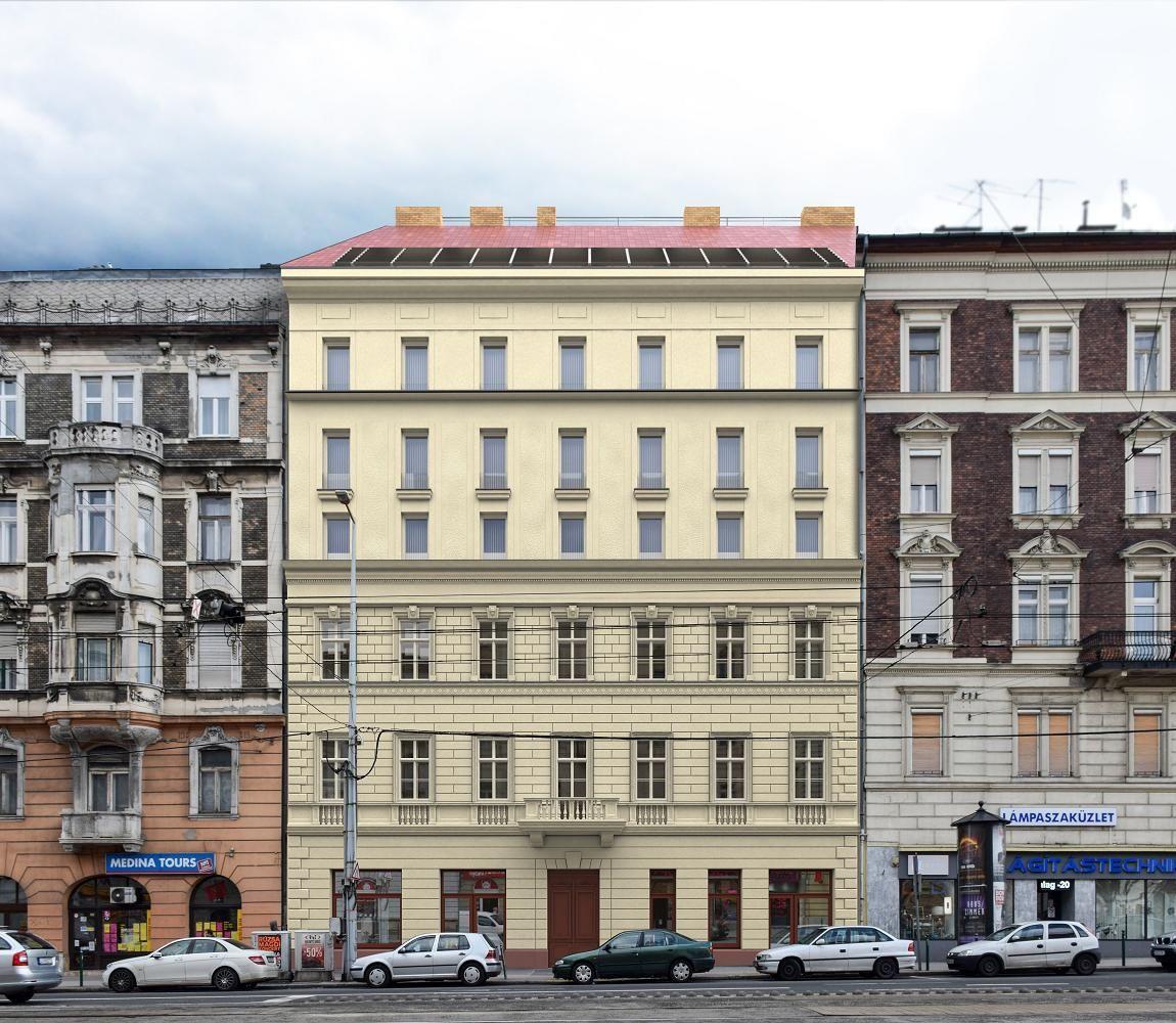 Квартира в Будапеште, Венгрия, 47 м2 - фото 1