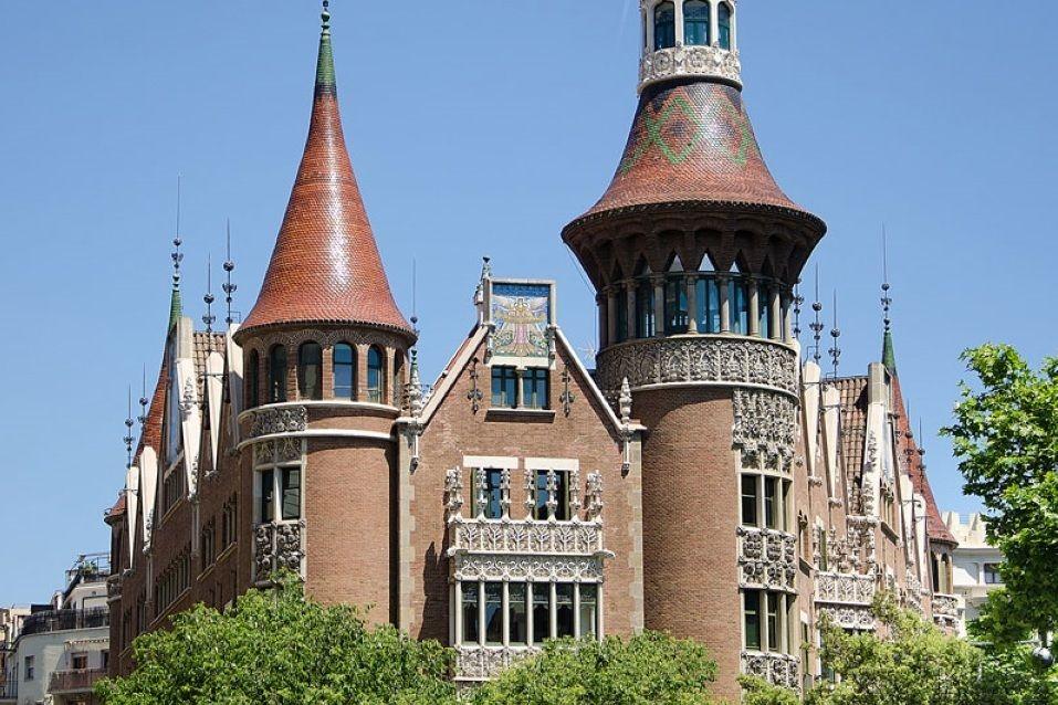 Доходный дом в Барселоне, Испания, 1149 м2 - фото 1