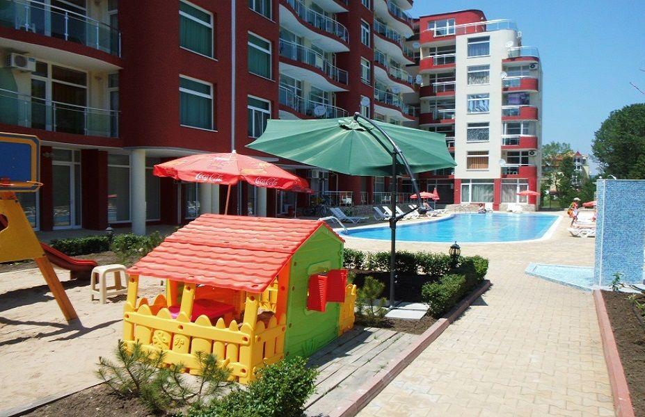 Студия на Солнечном берегу, Болгария, 47 м2 - фото 1