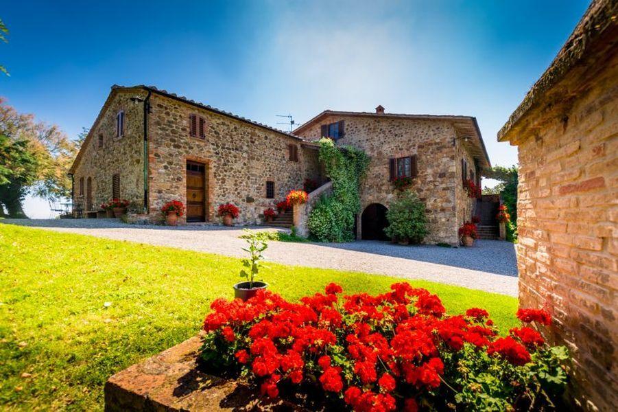 Ферма в Сиене, Италия - фото 1