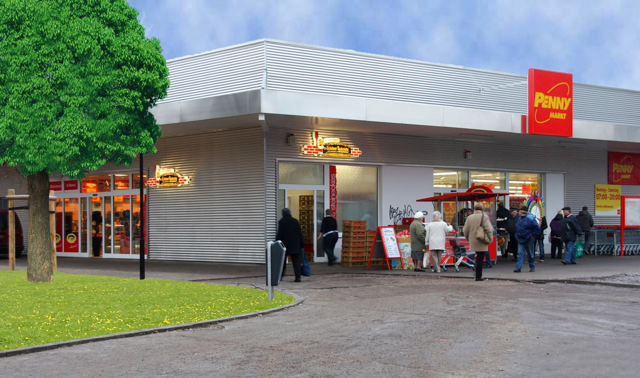Магазин в земле Северный Рейн-Вестфалия, Германия, 1086 м2 - фото 1