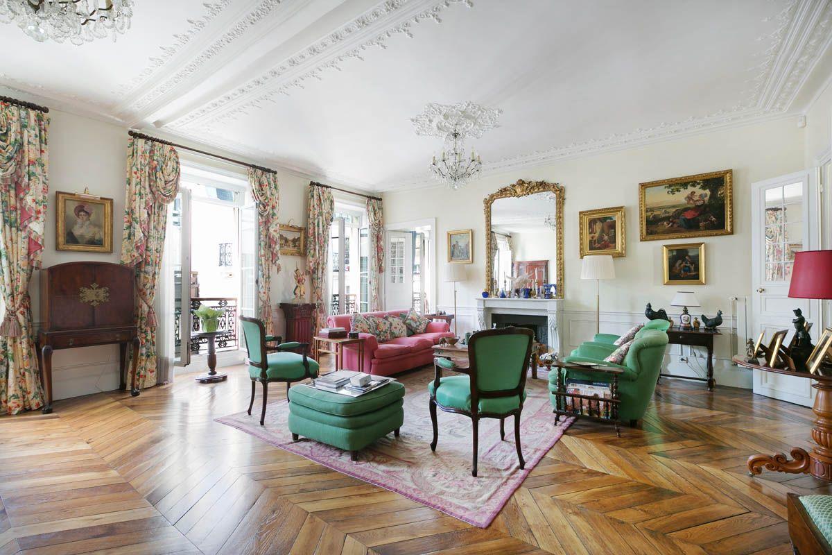 Квартира в Париже, Франция, 300 м2 - фото 1