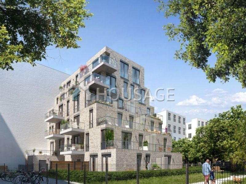 Квартира в Берлине, Германия, 53.51 м2 - фото 1
