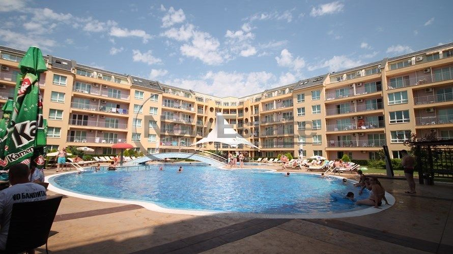 Квартира на Солнечном берегу, Болгария, 58 м2 - фото 1