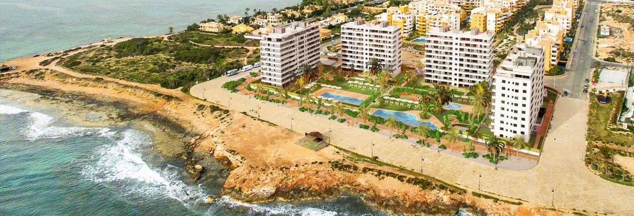 Апартаменты на Коста-Бланка, Испания, 80 м2 - фото 1