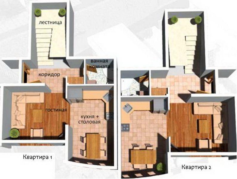 Квартира в Шушани, Черногория, 150 м2 - фото 1