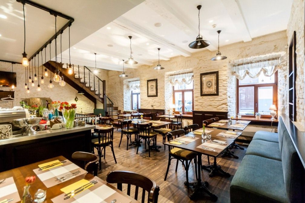 Кафе, ресторан в Вильнюсе, Литва, 245 м2 - фото 1