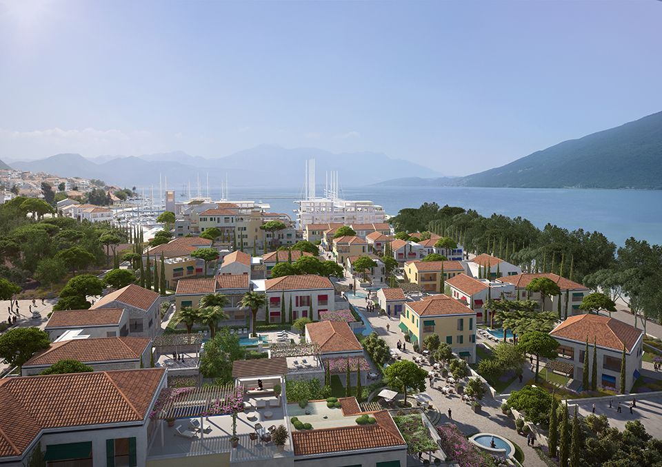 Апартаменты Боко-Которский залив, Черногория, 176 м2 - фото 1